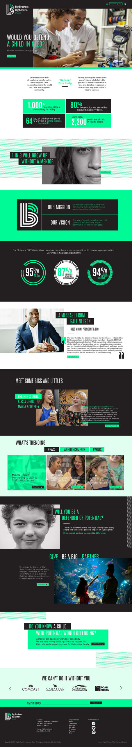 webdesign sample layout new york, ny